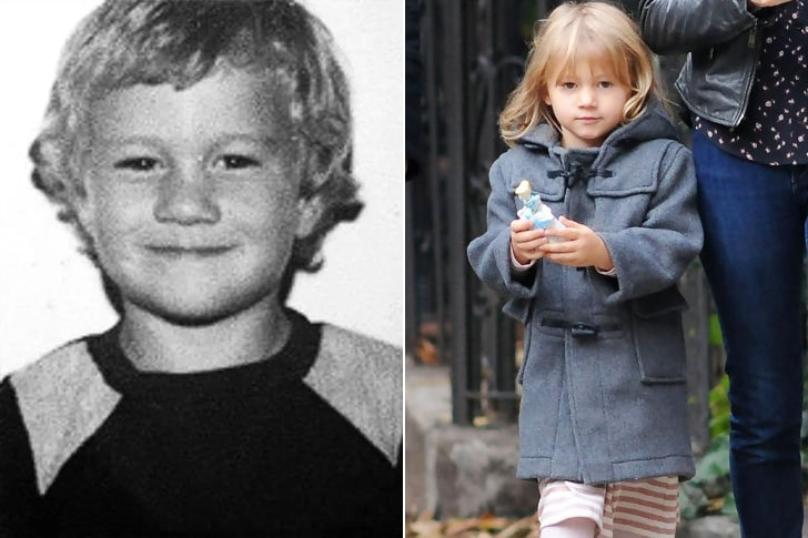 HEATH LEDGER E MATILDA LEDGER